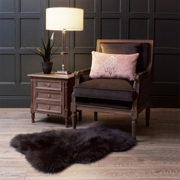 Bonaparte Slate Grey Velvet Chair