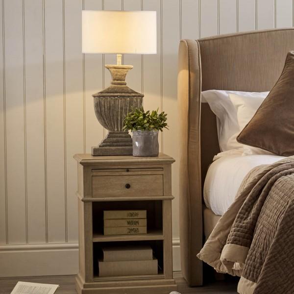 Kensington Bleached Oak finish Bedside Table