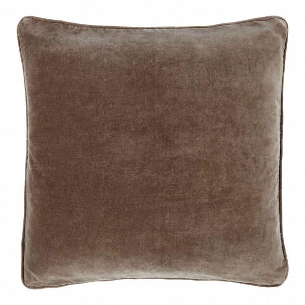 Longchamp Beige Velvet 60 x 60 Cushion Cover With Interior