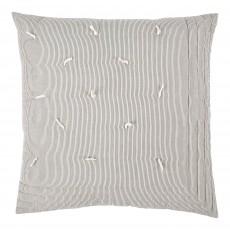 Finlay Ecru & Ink Striped 60 x 60 Cushion Cover