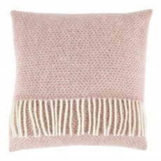 Pure New Wool 40 x 40 Dusky Pink Cushion With Interior