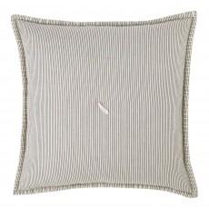 Finlay Ecru & Ink Striped 40 x 40 Cushion Cover