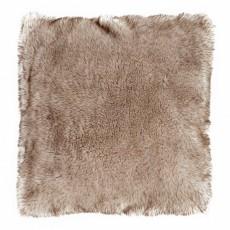 Husky Wolf 45 x 45 Faux Fur Cushion With Interior