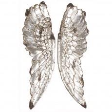 Gabriel Angel Wings Silver Effect