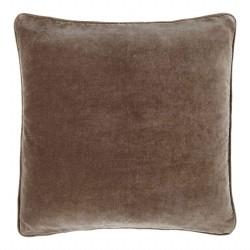 Longchamp Beige Velvet 60 x 60 Cushion Cover