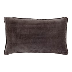Vitton Grey Velvet 30 x 50 Cushion Cover