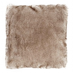 Husky Wolf 45 x 45 Faux Fur Cushion With Interior