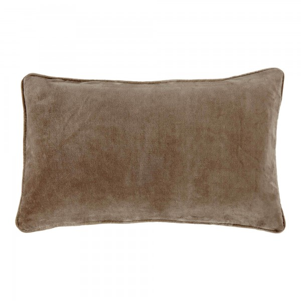 Longchamp Beige Velvet 30 x 50 Cushion Cover