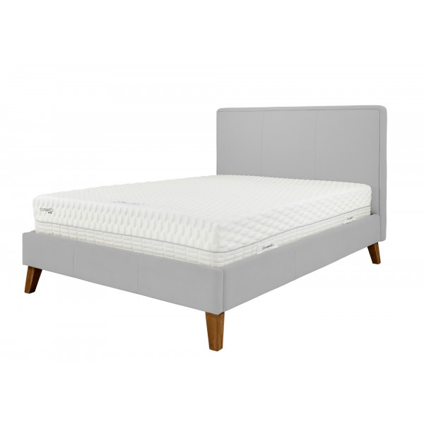 Bespoke Build Your New York Bed Frame-Super King 6'-Magic Velvet - Dove-No Mattress