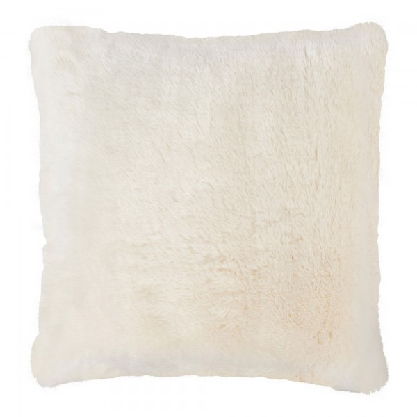 Snow Queen Large 60 x 60 Faux Fur Cushion Luxury Feather Interior