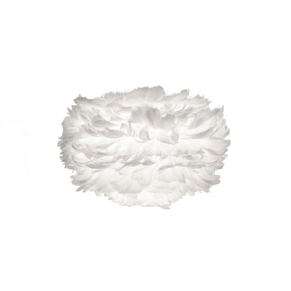 Vita Eos Mini White Feather Lampshade