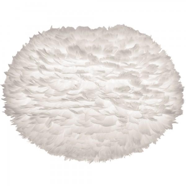Vita Eos Large White Feather Lampshade
