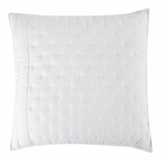 Chantilly White Quilted 60 x 60 Cushion Cover with Interior