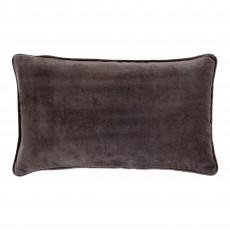 Vitton Grey Velvet 30 x 50 Cushion Cover With Interior