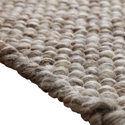 Bobbles Small Natural Rug