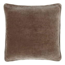 Longchamp Beige Velvet 60 x 60 Cushion Cover