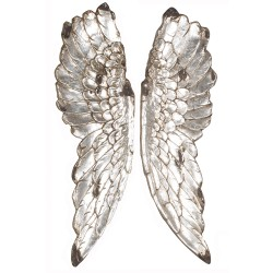 Gabriel Angel Wings Silver Effect