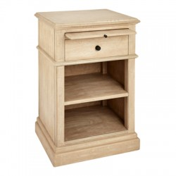 Kensington Bleached Oak finish Bedside Table