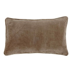 Longchamp Beige Velvet 30 x 50 Cushion Cover With Interior